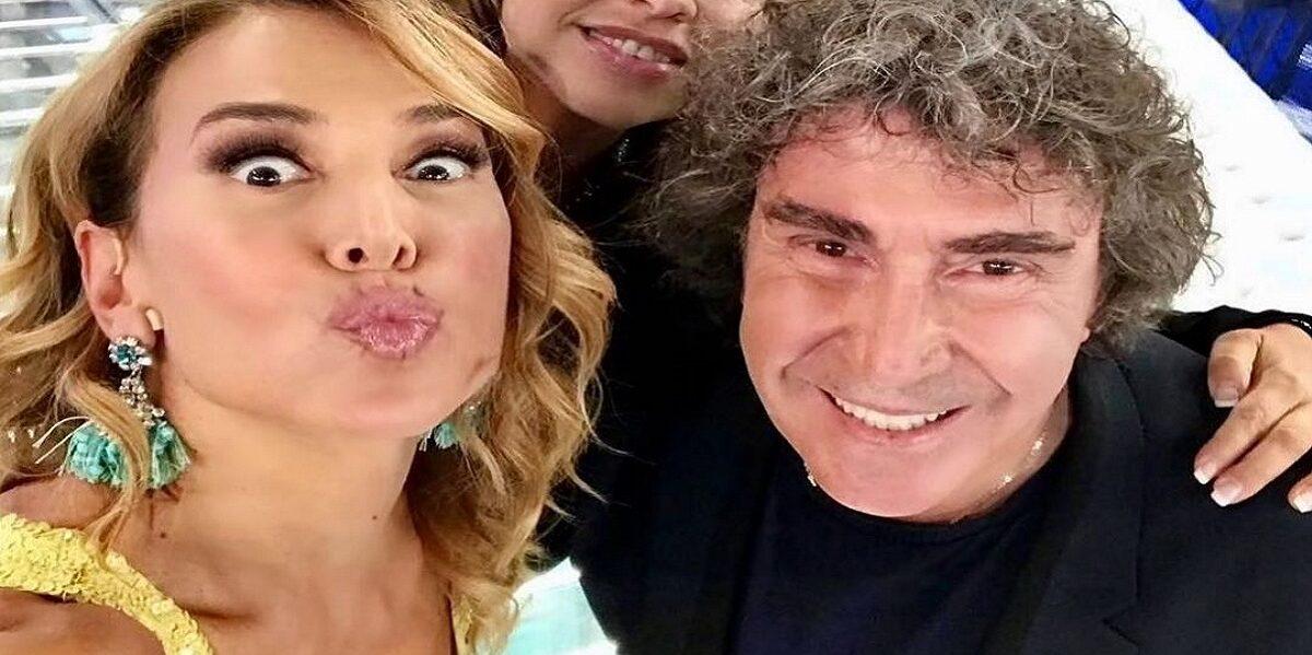 Barbara D'Urso e Stefano Dorazio