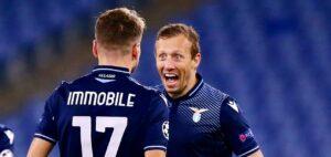 Lazio Zenit 3 1, Immobile e Parolo in gol e secondo posto nel girone