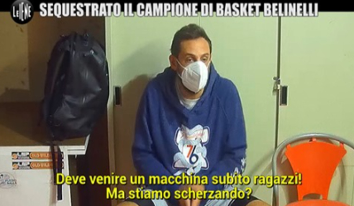 Le Iene, Mario Belinelli