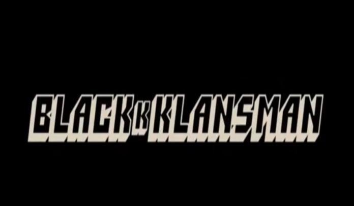 Stasera in tv, Blackkklansman