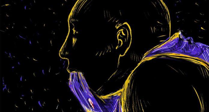 Kobe Bryant disegno