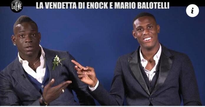 Le Iene Mario Balotelli e Enock