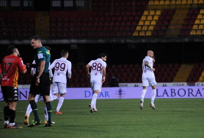 Benevento-Torino, probabili formazioni 25 giornata