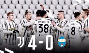 Juventus Spal 4 0: Kulusevski semina diamanti, bianconeri in semifinale