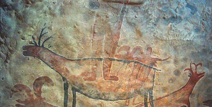pittura rupestre indonesia
