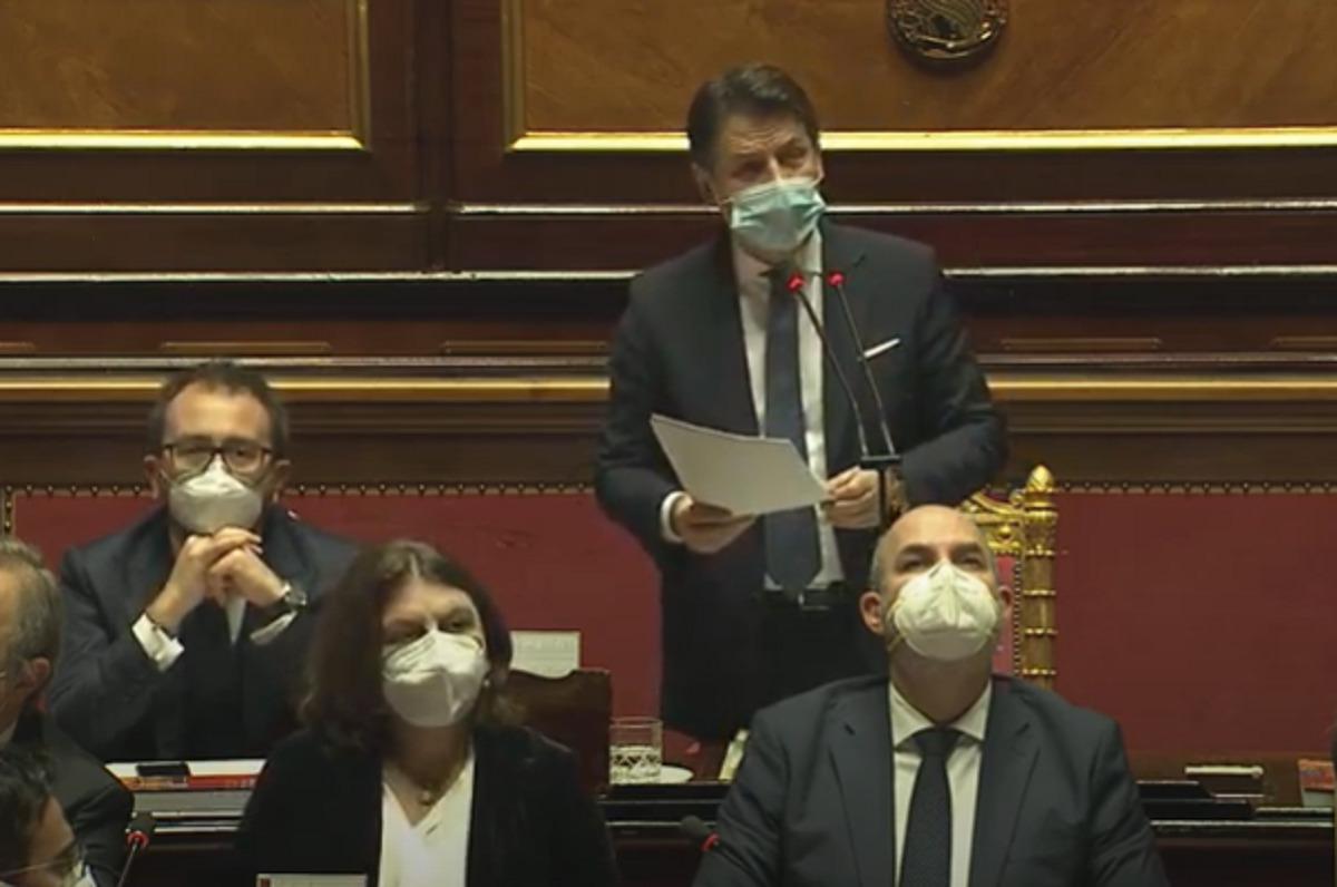 crisi di governo conte senato Europeisti