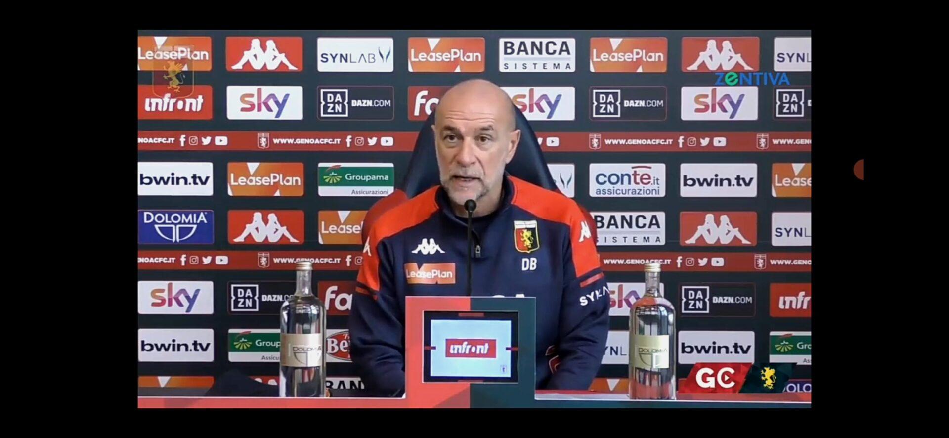 Genoa-Sampdoria, Ballardini
