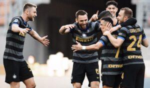 Inter-Genoa 3-0 |   Lukaku non perdona |  Conte sorride e prova la fuga