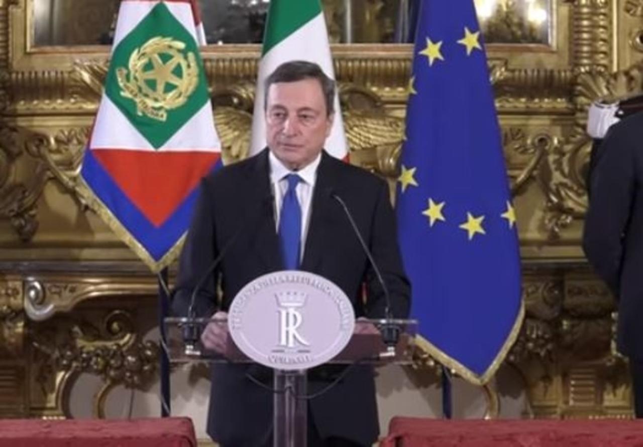 Mario Draghi Transizione Ecologica