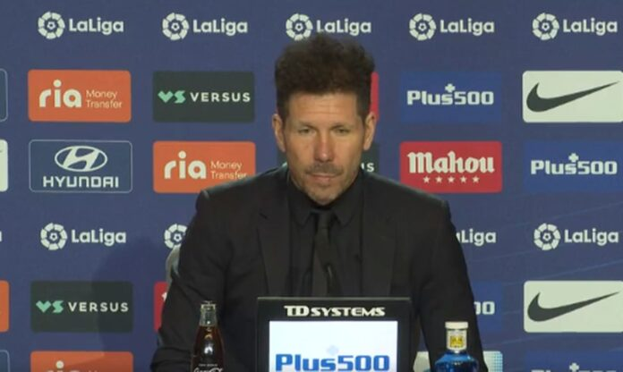 Simeone, Atletico Madrid-Chelsea