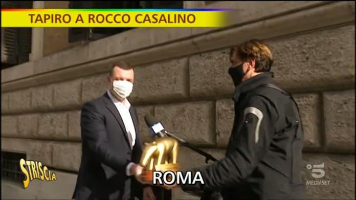 Striscia la Notizia Conte Casalino