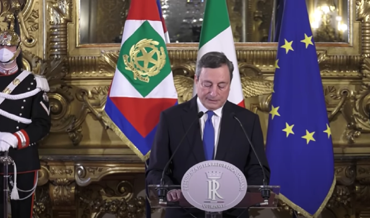 dpcm governo recovery plan premier Draghi