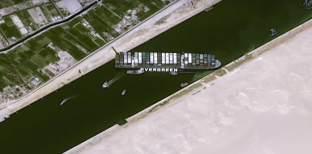 Canale di Suez Ever Given