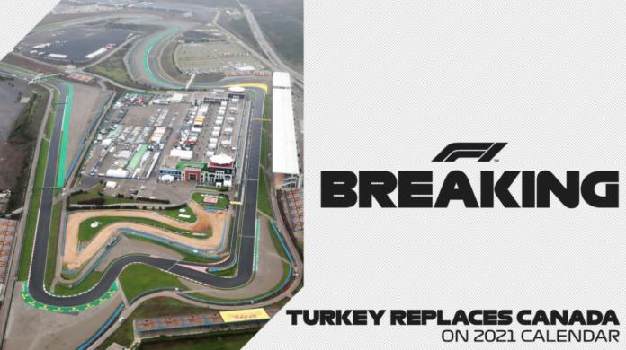 Formula 1, Gp della Turchia