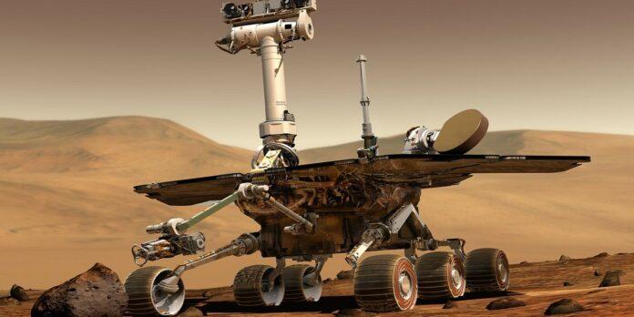 elicottero su Marte