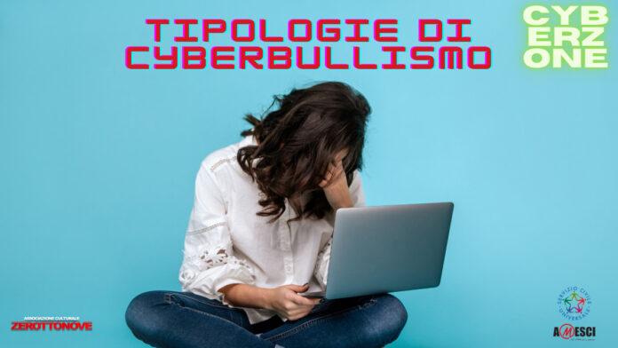 CYBERBULLISMO TIPOLOGIE