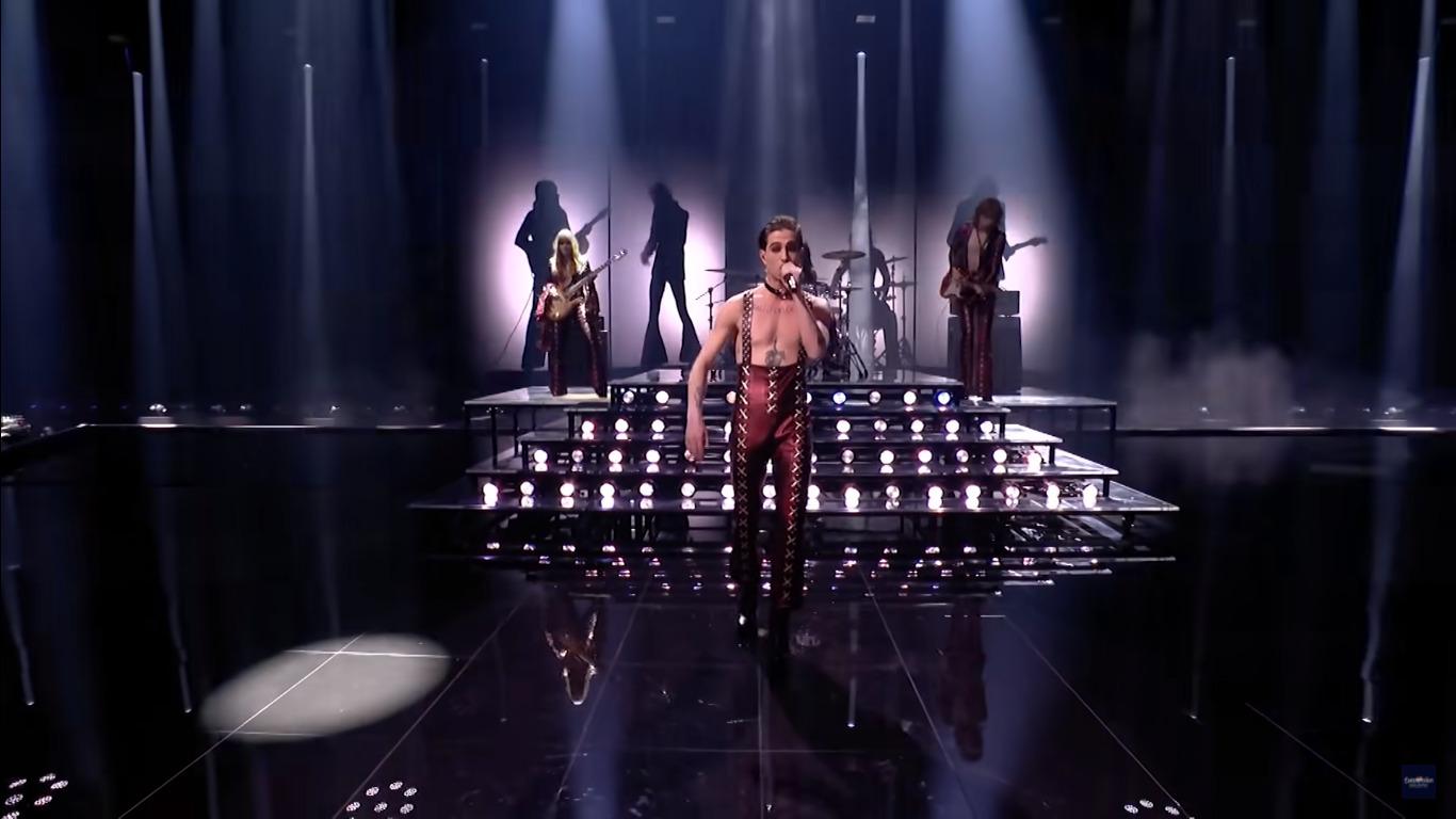 Eurovision 2021 Maneskin Damiano