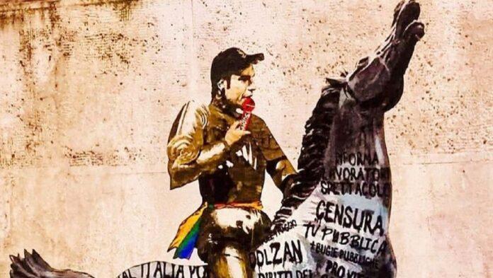 roma fedez murales