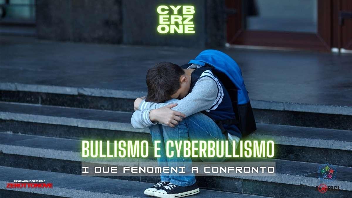 bullismo e cyberbullismo confronto