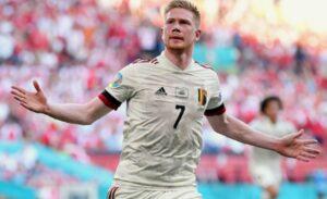 Classifica marcatori Euro2020: De Bruyne timbra il cartellino
