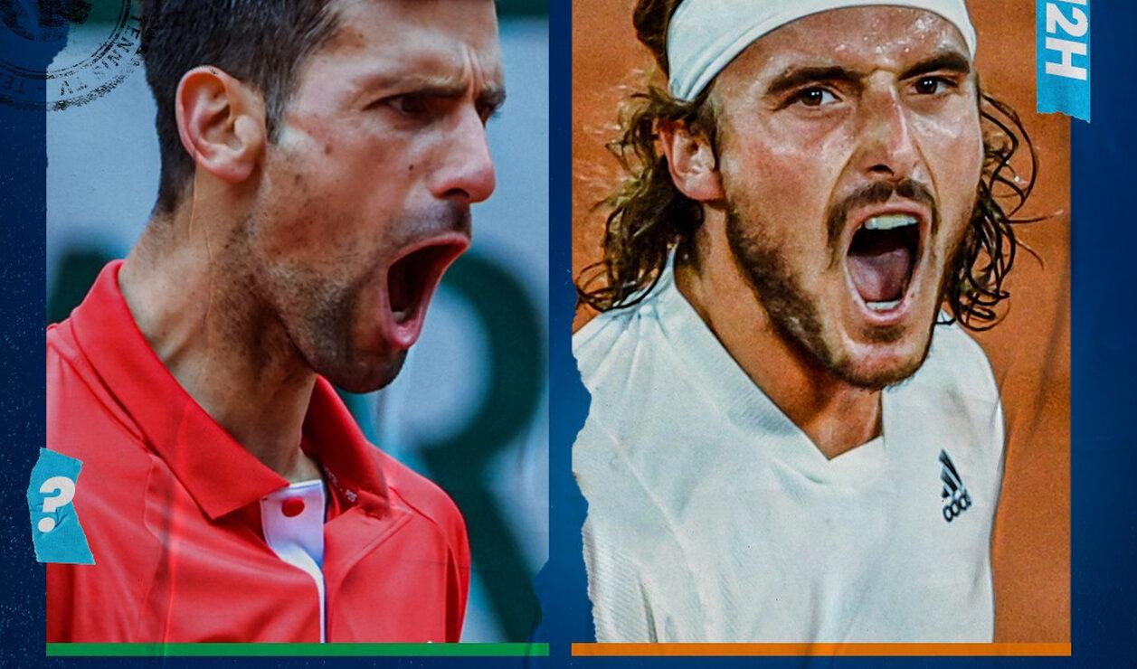 Roland Garros, Djokovic, Tsitsipas