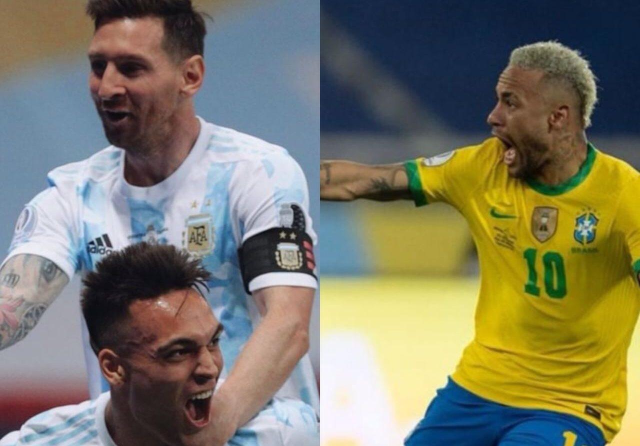 Copa America, Argentina, Brasile