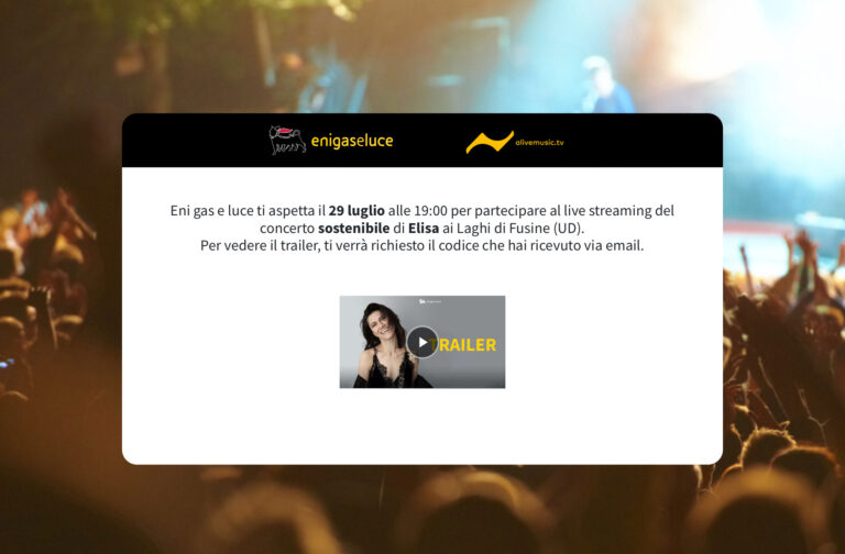 Elisa: concerto streaming gratis stasera dalle 19 su A-LIVE