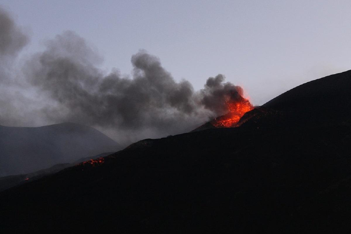Etna eruizione