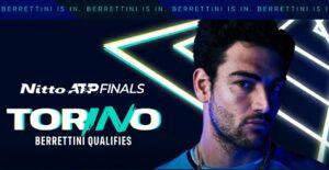 Berrettini si qualifica alle Nitto ATP Finals di Torino ed entra nella storia